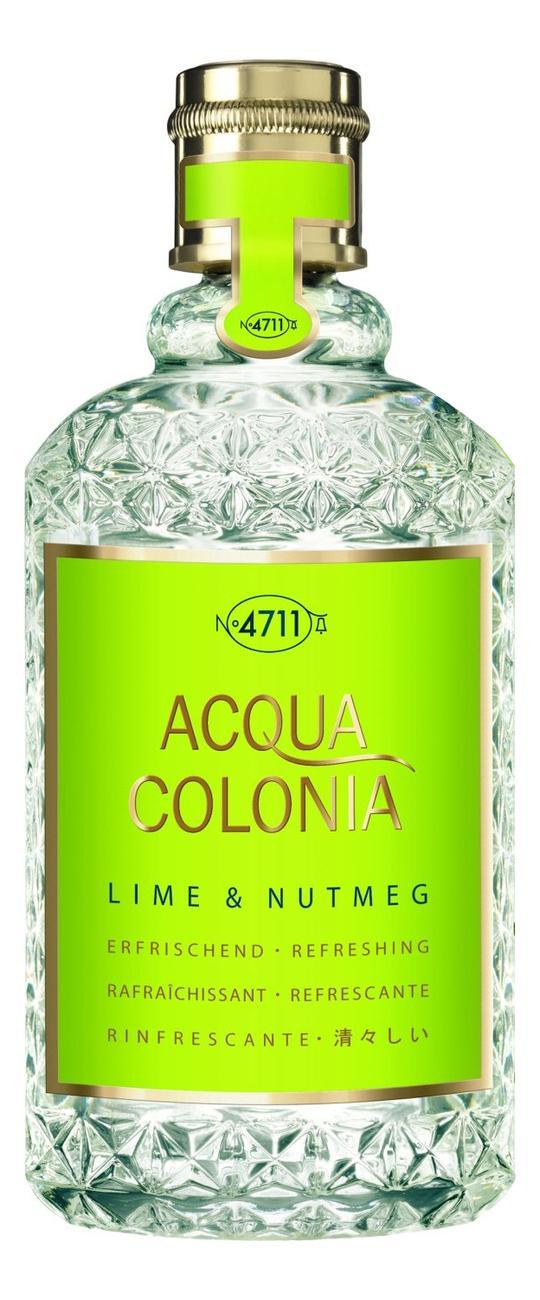 Maurer & Wirtz 4711 Acqua Colonia Lime & Nutmeg