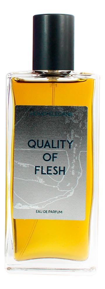Homo Elegans Quality Of Flesh