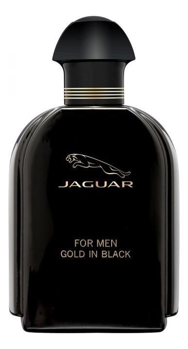 Jaguar For Men Gold In Black