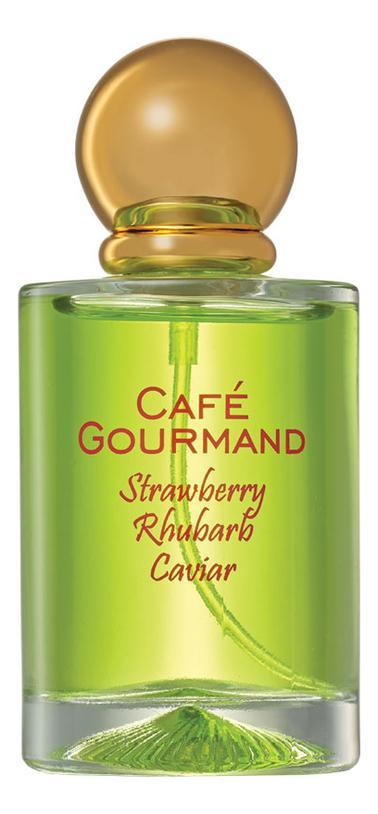 Brocard Cafe Gourmand Strawberry Rhubarb Caviar