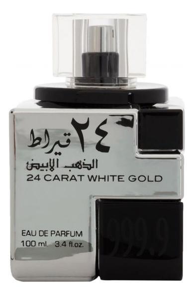 Lattafa 24 Carat White Gold