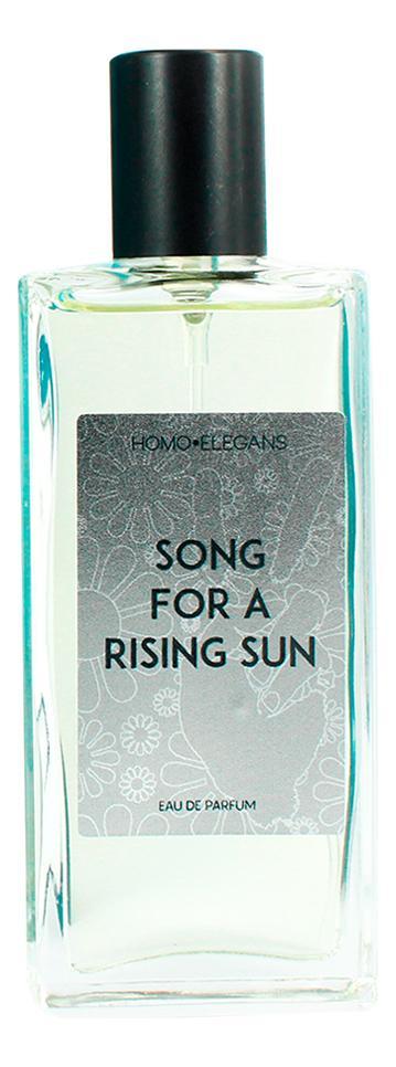 Homo Elegans Song For A Rising Sun