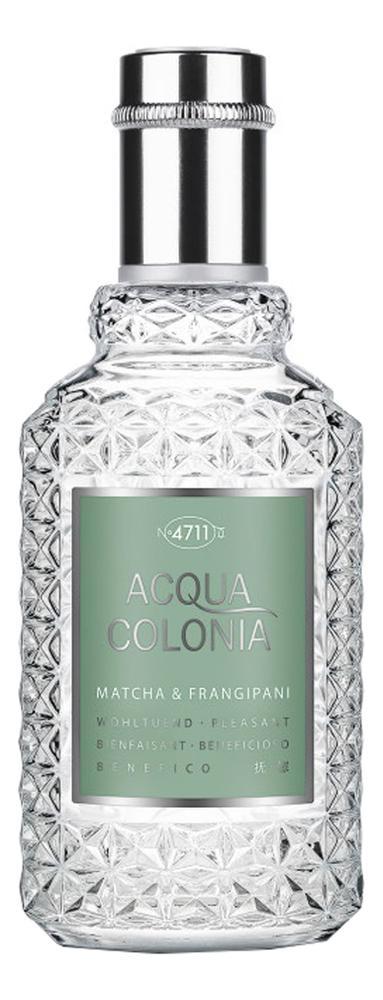 Maurer & Wirtz 4711 Acqua Colonia Matcha & Frangipani