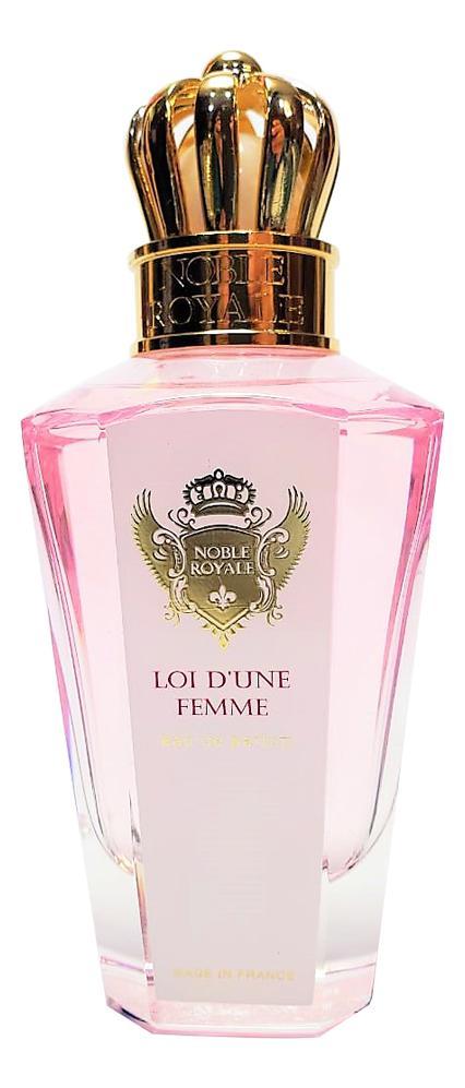 Noble Royale Loi D'Une Femme