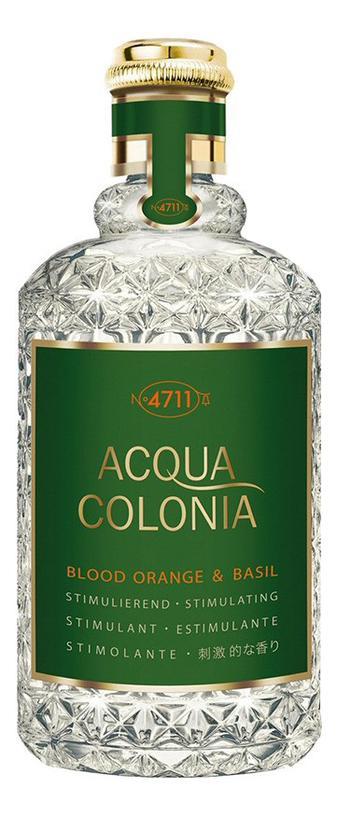 Maurer & Wirtz 4711 Acqua Colonia Blood Orange & Basil
