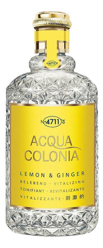 Maurer & Wirtz 4711 Acqua Colonia Lemon & Ginger