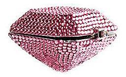 Judith Leiber Pink Crystal