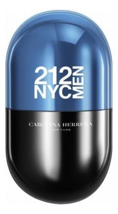 Carolina Herrera 212 NYC Men Pills